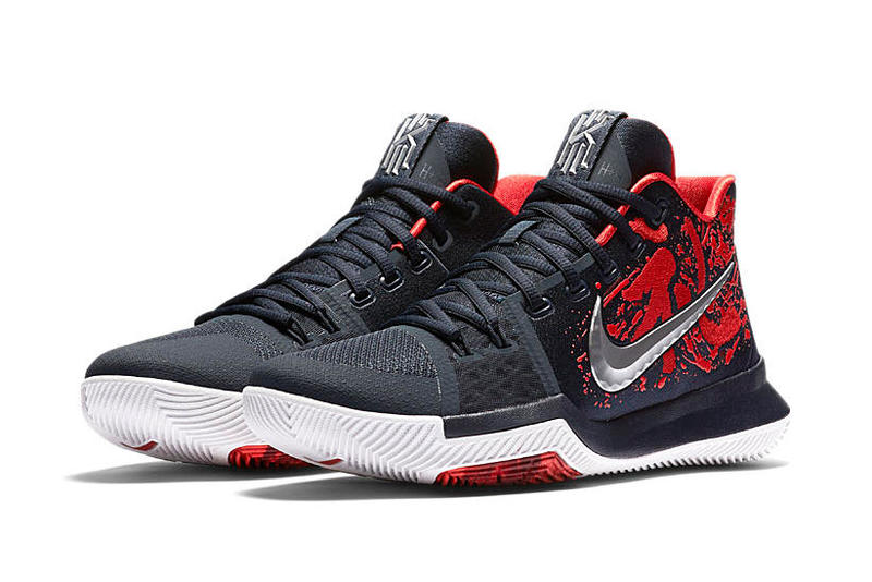 lowest price bd77c 74dac Nike Chooses the Kyrie 3 'Samurai' for Its Christmas Day ...
