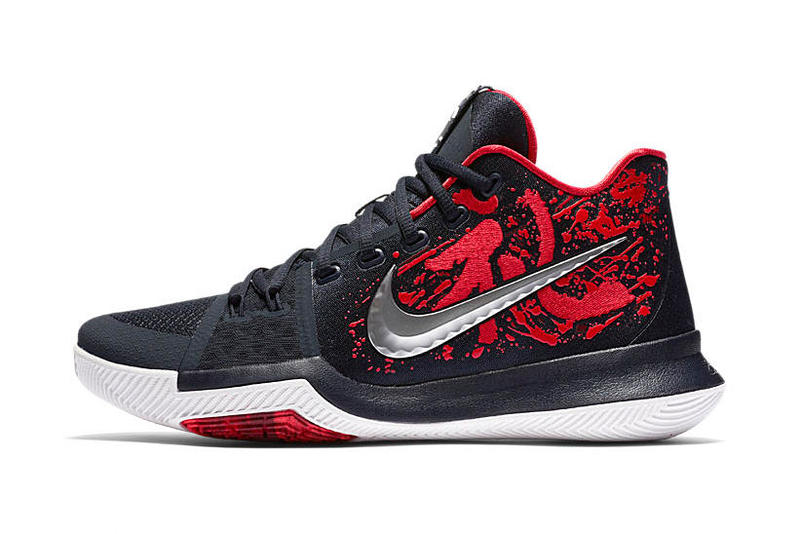 Nike Kyrie 3 'Samurai' Christmas Day Mystery Drop