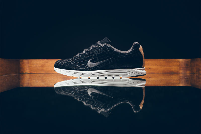 sale retailer 4c01b bb4c8 Nike Mayfly Premium Leather Black