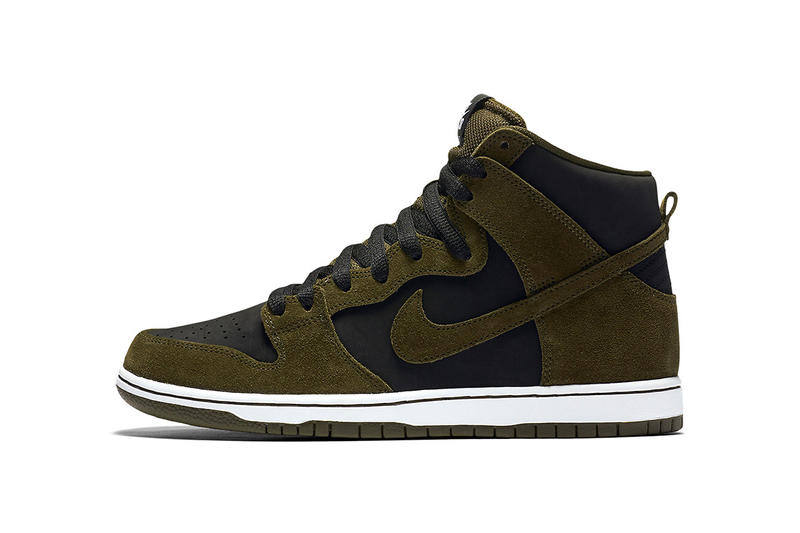 newest collection c8fac 92318 Nike SB Dunk High Medium Olive