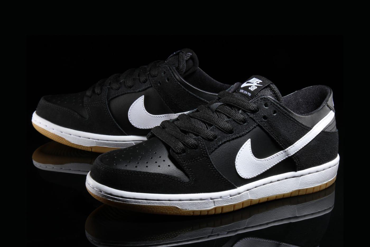 Nike SB Dunk Low Pro in Classic Black