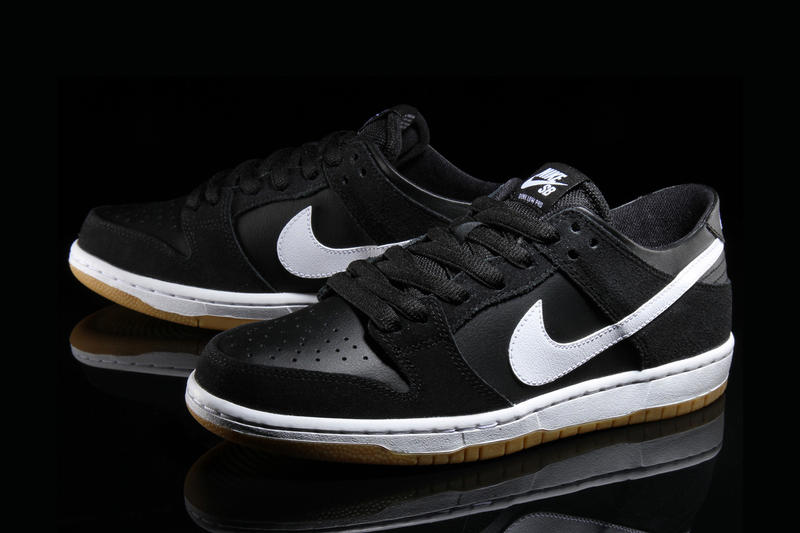 Nike SB Dunk Low Pro in Classic Black White Gum Colorway  324e1a264