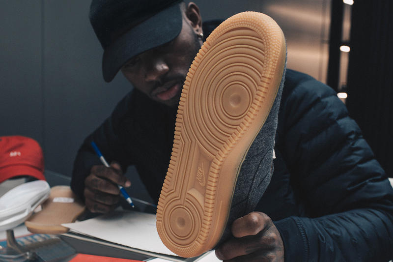 Nike Bryson Tiller Swoosh Fam Air Force 1 iD