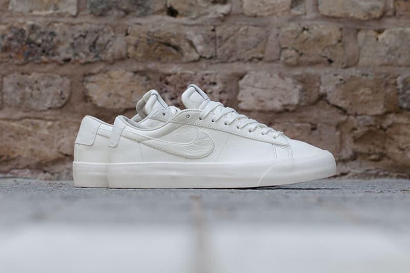 watch 6a132 ad466 NikeLab Blazer Studio Low White