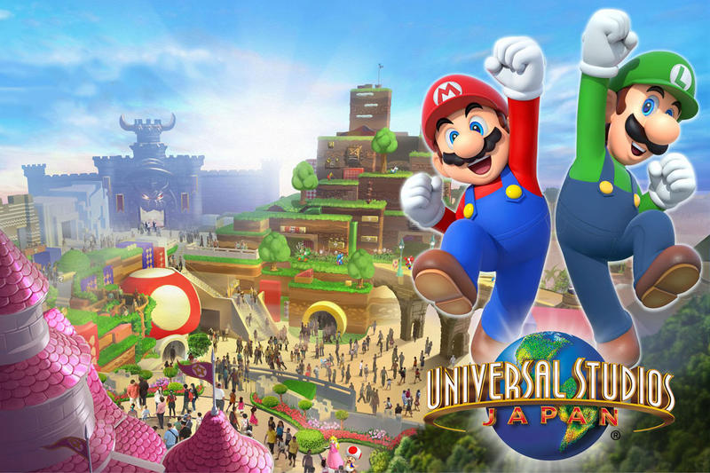 Nintendo World Theme Park Receives an Opening Date Osaka Japan in 2020 Olympics Mario Universal Studios