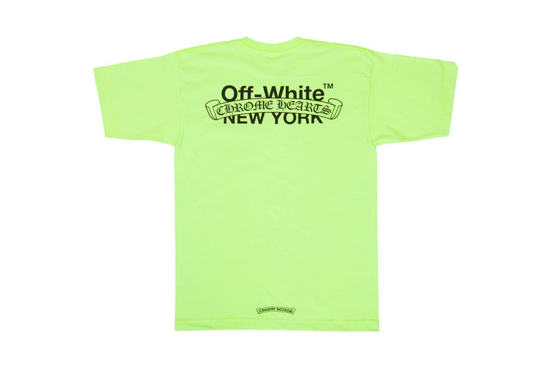 c2a0091001c1 OFF-WHITE x Chrome Hearts Limited Edition T-Shirt Capsule