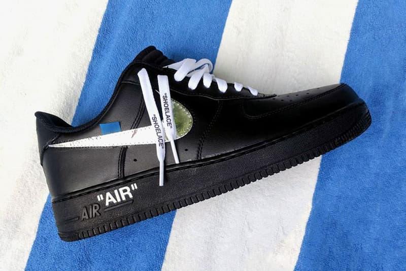 OFF-WHITE x Nike Air Force 1 Design Miami Previews