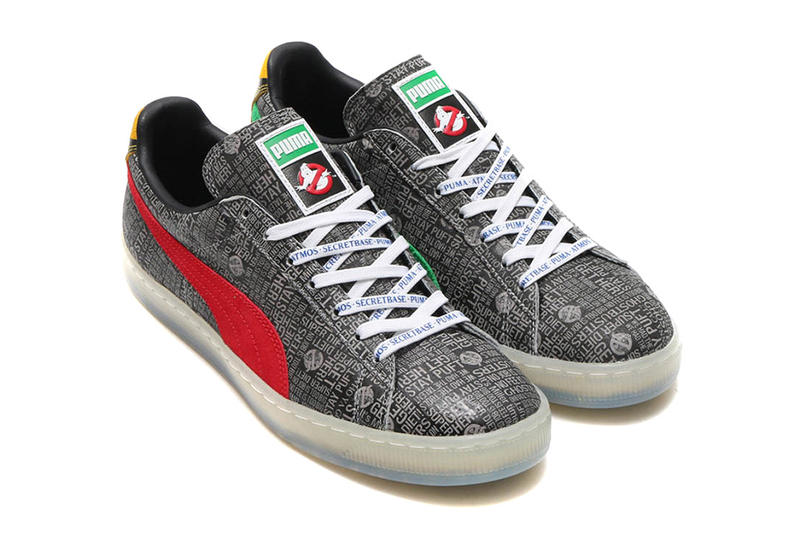 PUMA atmos Secret Base Ghostbusters Pack Stay Puft Marshmallow Man