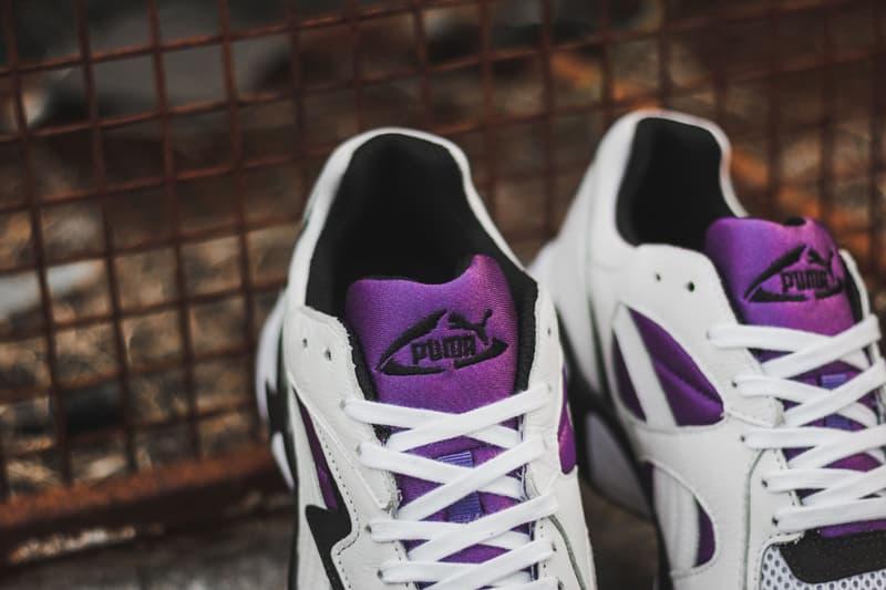 PUMA Prevail OG White Black Royal Purple