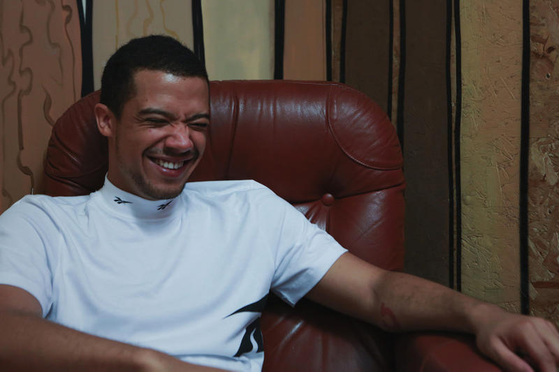 Raleigh Ritchie Laughing In Reebok For Mind The Gap EP