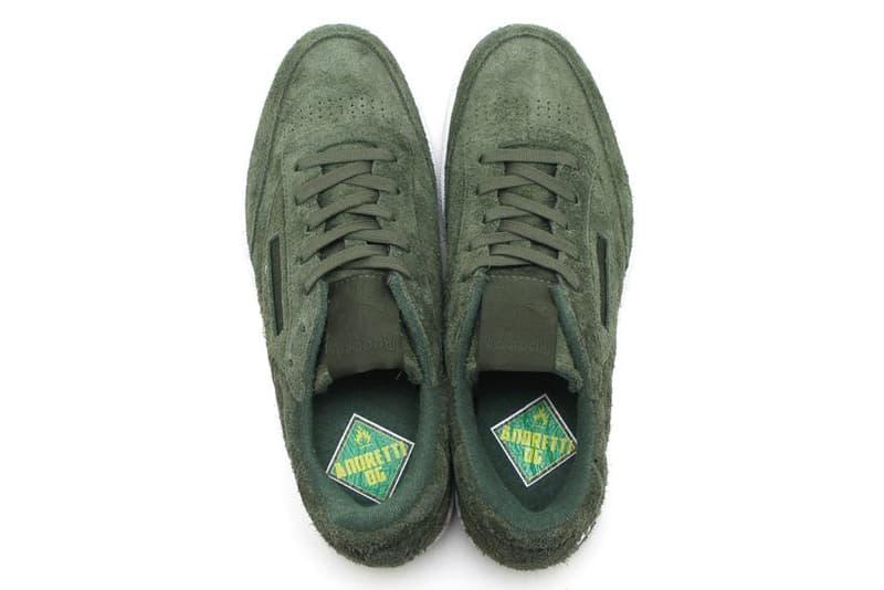 Currensy Reebok Classic Club C 85 JL Jet Life Sneaker Green