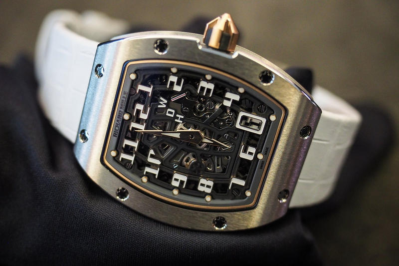 Richard Mille Watch Industry 2016 2017 Sales