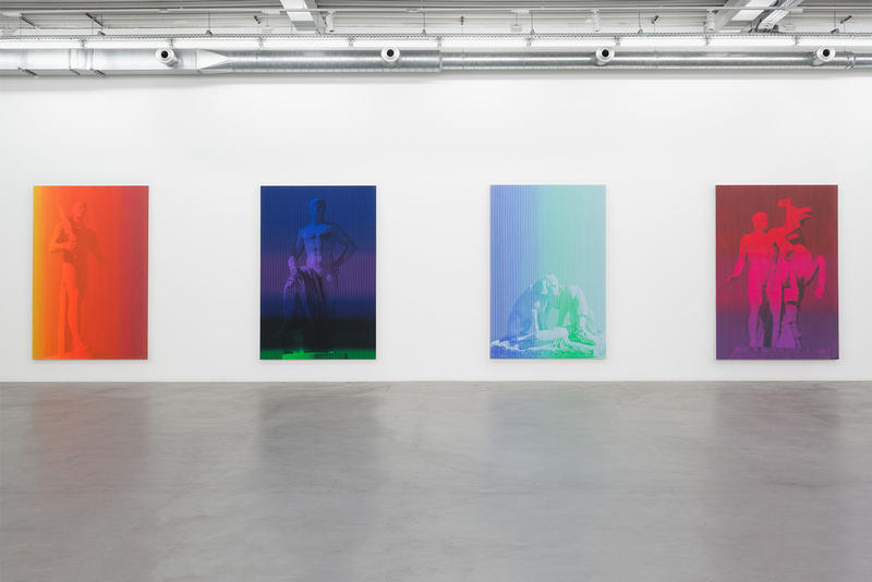Richard Phillips Exhibition Brussels Cy Twombly Almine Rech Gallery