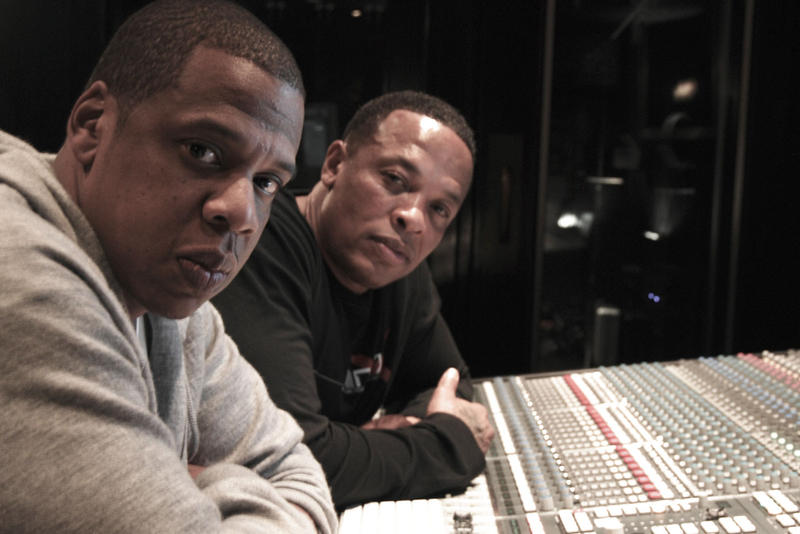 Jay Z and Dr. Dre