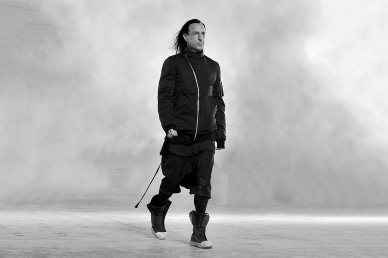 Rick Owens Fashion Interview
