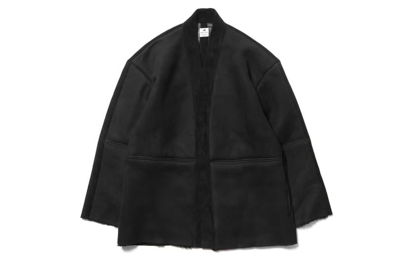 SASQUATCHfabrix. Mouton Haori Shearling Jacket