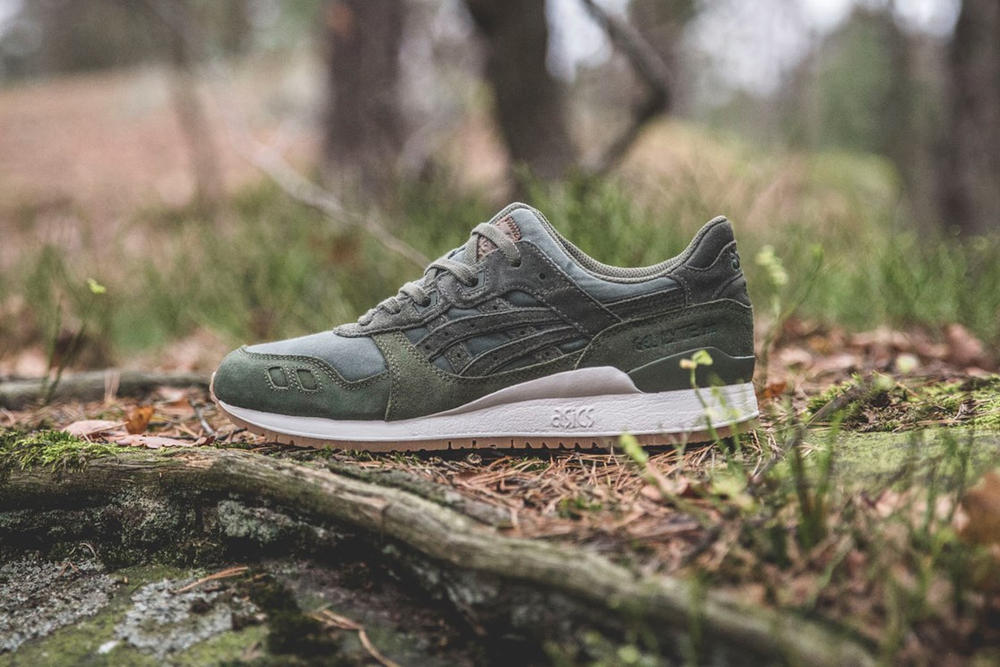 """Sneakersnstuff Unveils Its ASICS Tiger """"Forest"""" Pack"""