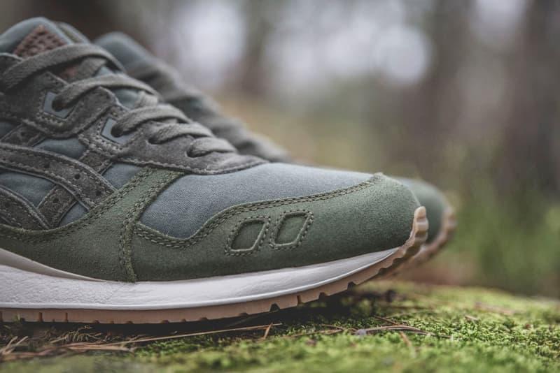 Sneakersnstuff ASICS Tiger GEL Lyte III V Forest Pack Green Blue