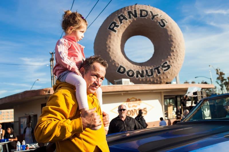 "Snoop Dogg Mark ""Gonz"" Gonzales Randy's Donuts"