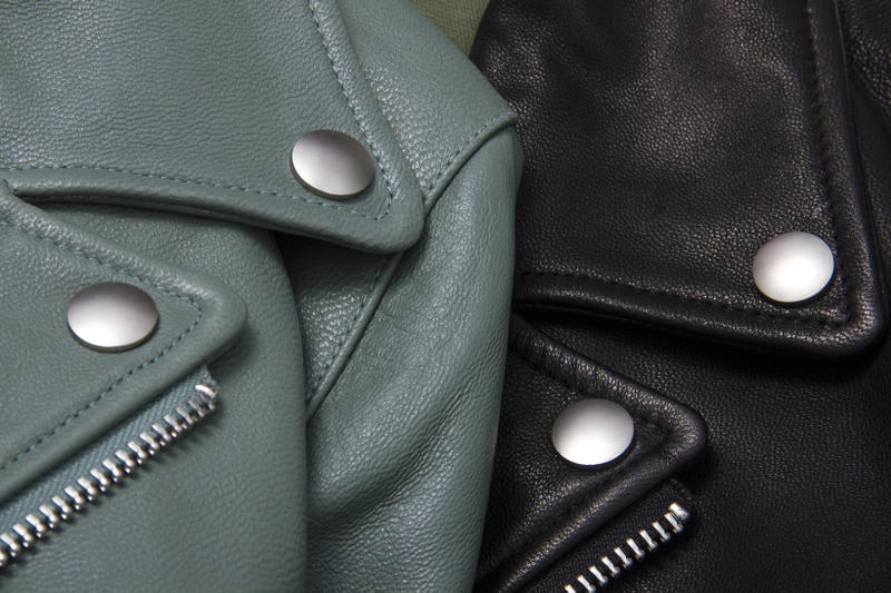 SSUR*PLUS Motorcycle Leather Jacket
