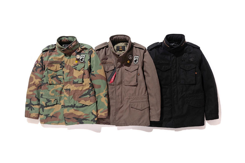 Stüssy x Alpha Industries Military Jackets