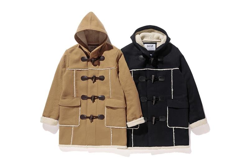 Stussy Schott NYC Duffle Coat 2016 Fall Winter