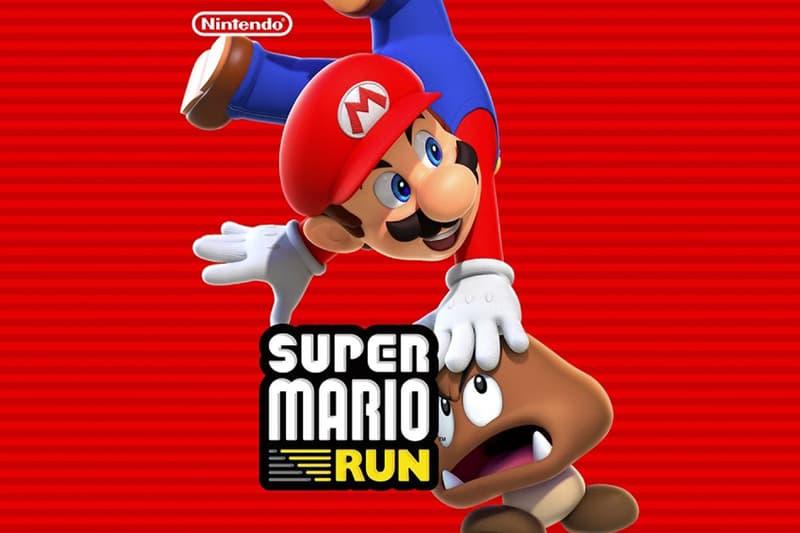Nintendo Super Mario Run Runaway Hit Top of the Charts