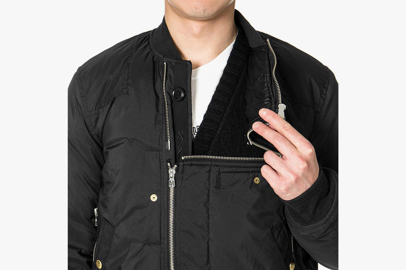 TAKAHIROMIYASHITATheSoloist. Flight Jacket black