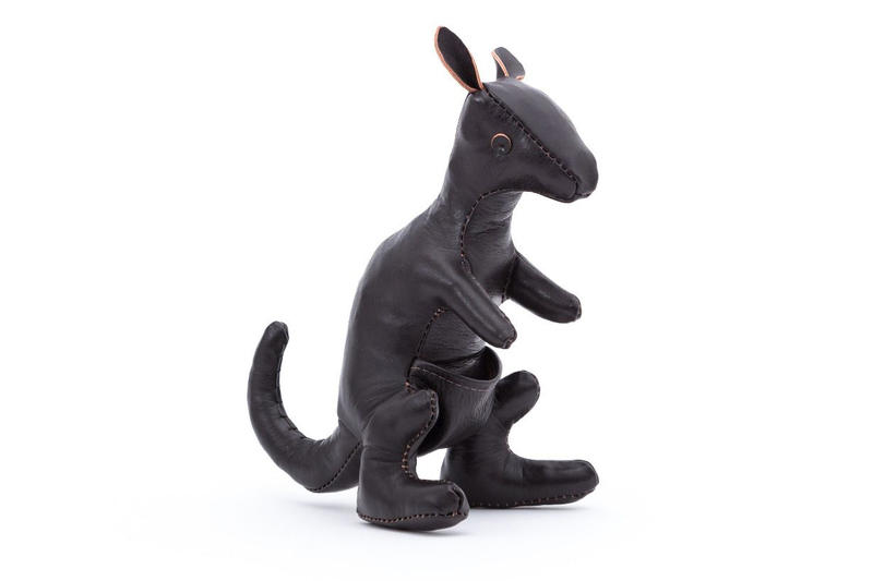 The Real McCoy's Handcrafted Horsehide Rhino and Kangaroo