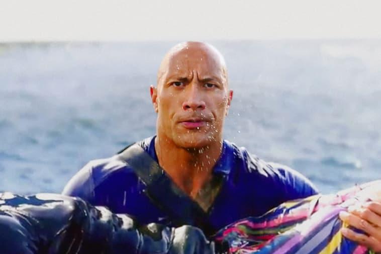 "Baywatch Dwayne ""The Rock"" Johnson"