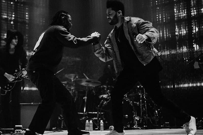 "Watch The Weeknd Bring Kendrick Lamar Onstage for ""Sidewalks"" VEVO"