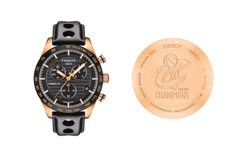 Tissot First Ever NBA Championship Watch for the Cleveland Cavaliers Timepieces Basketball Chronograph