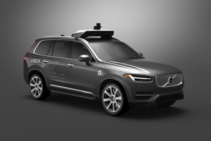Uber San Francisco Volvo XC90