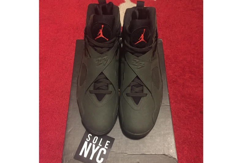 Undefeated Air Jordan 8 Leaked