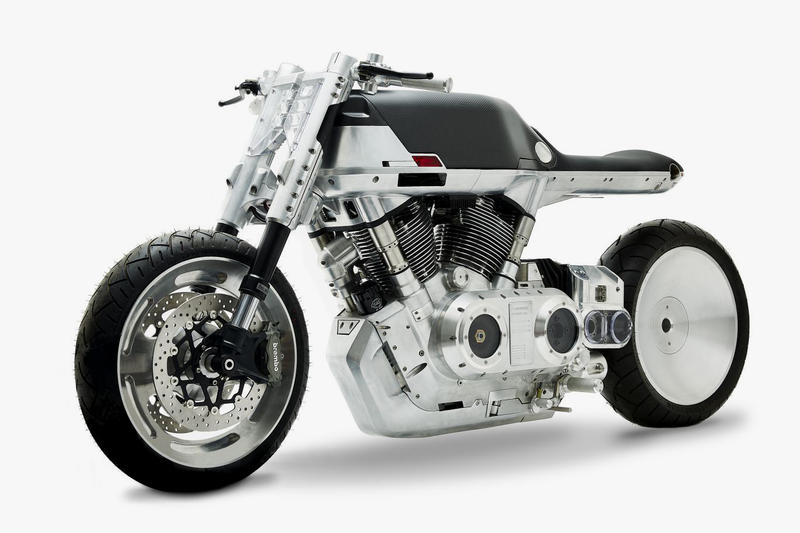 The Vanguard Roadster Motorcycle Is Ahead of Its Time