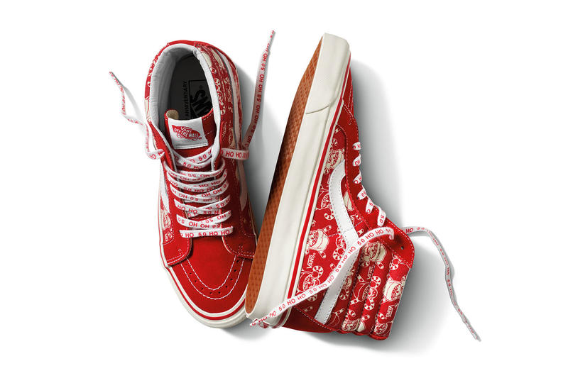 Vans 2016 Holiday Collection Sk8-Hi and Old Skool
