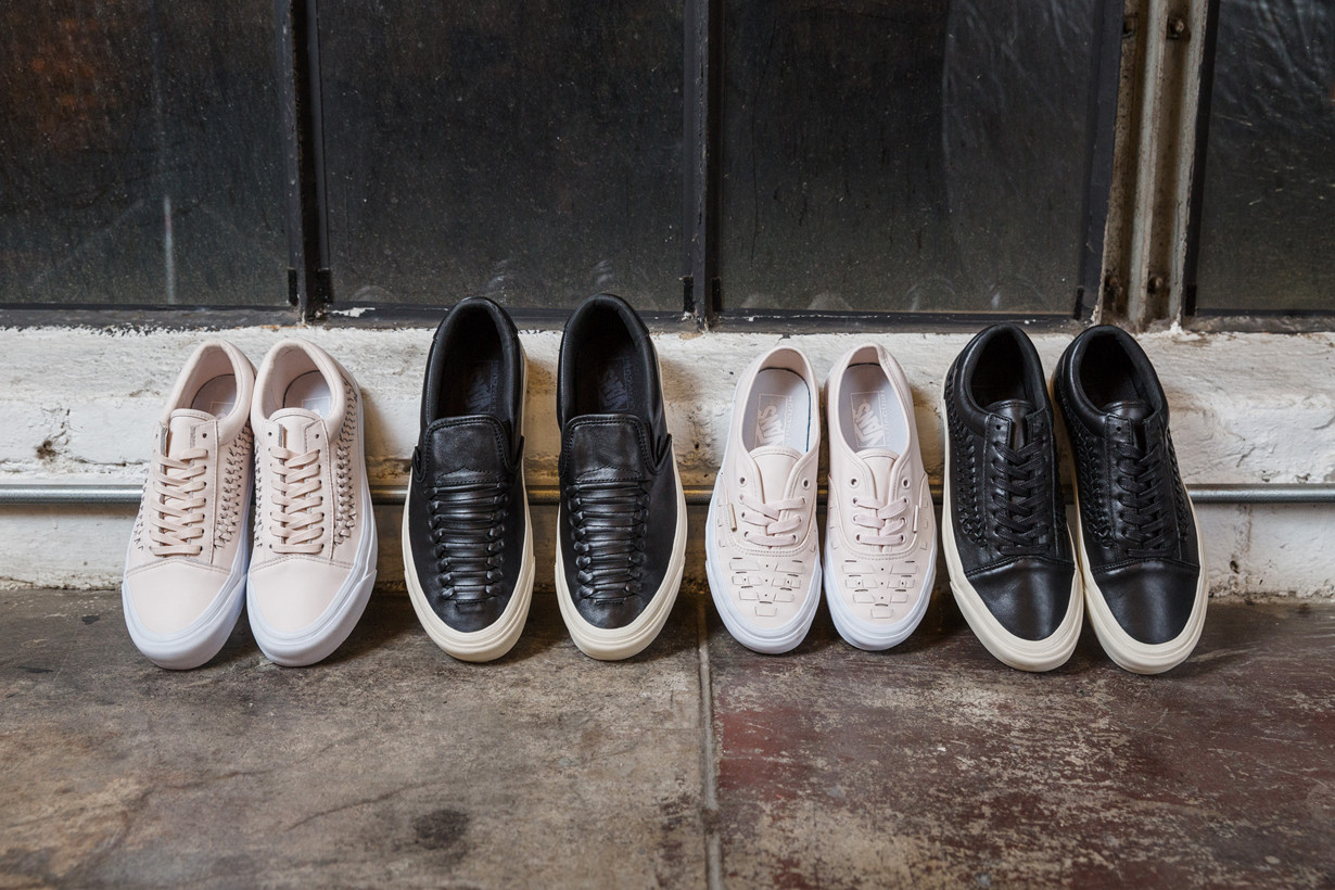 Vans Weave Pack Gives Four of Its