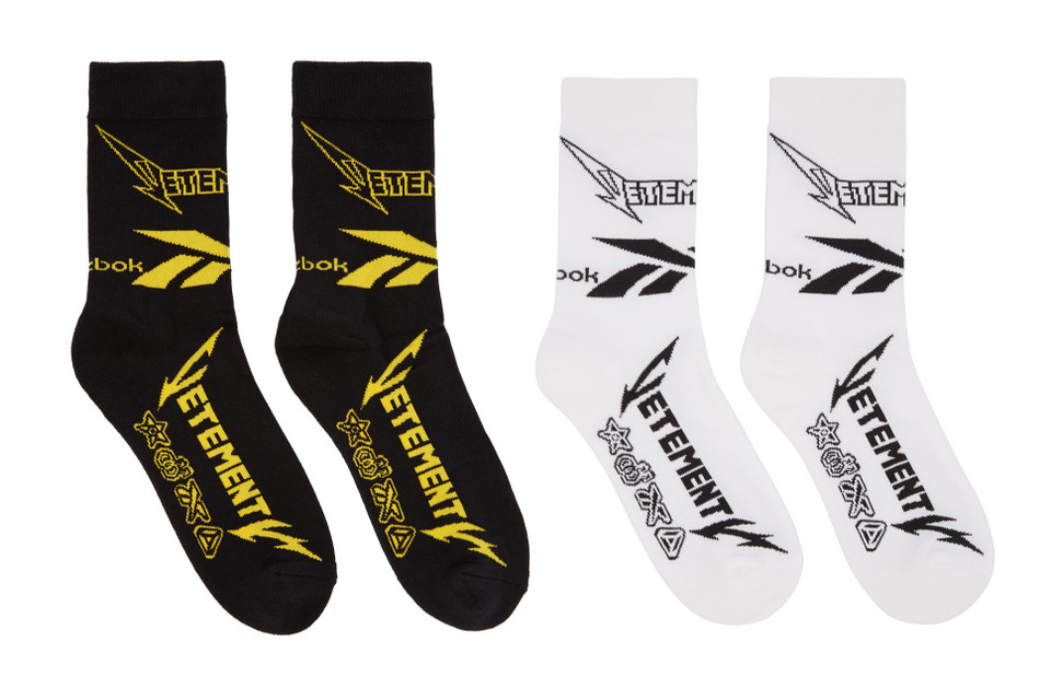 faacc0e075b4 Vetements x Reebok Release Sock Collection