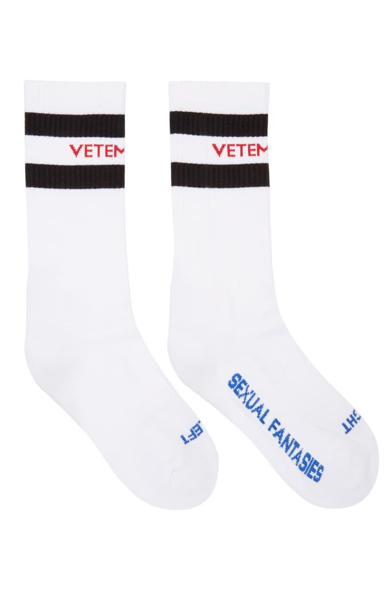 Vetements Reebok Socks