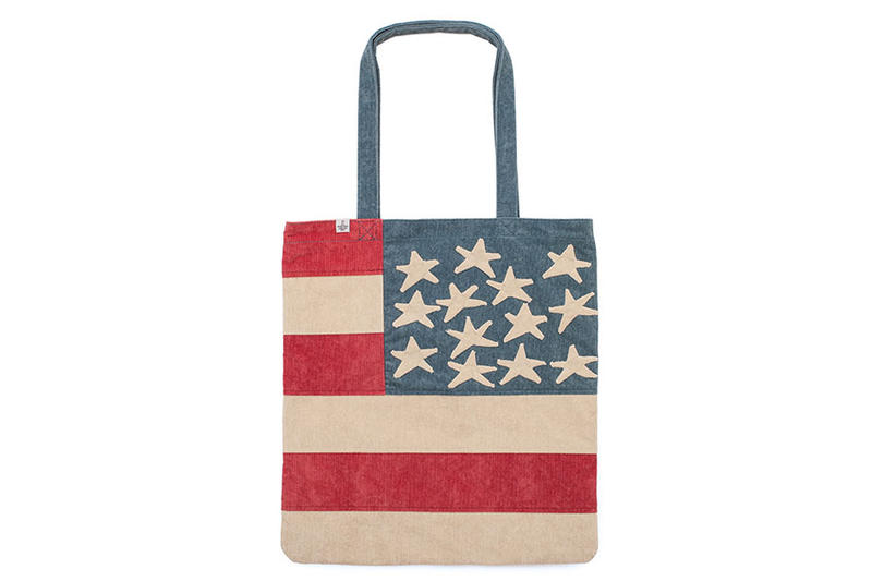 visvim 670 USD American Flag Tote Bag
