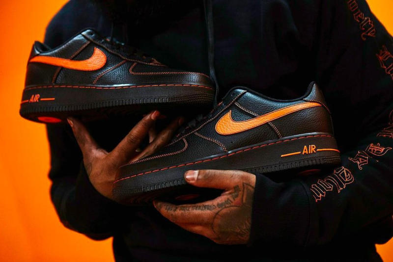 reputable site 6c637 75b69 VLONE Nike Air Force 1 Low Wider Release