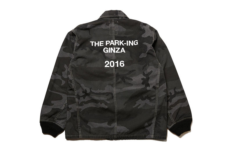 WTAPS x FORTY PERCENT AGAINST RIGHTS Camo Collection THE PARK ING GINZA