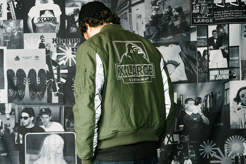 XLARGE Alpha Industries Reversible MA 1