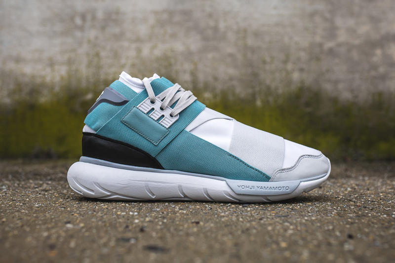 "Y3 Qasa High ""Crystal White/Vapour Steel"""