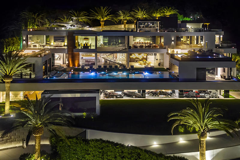 Bel-Air $250 Million USD Mansion With Impressive Car Collection