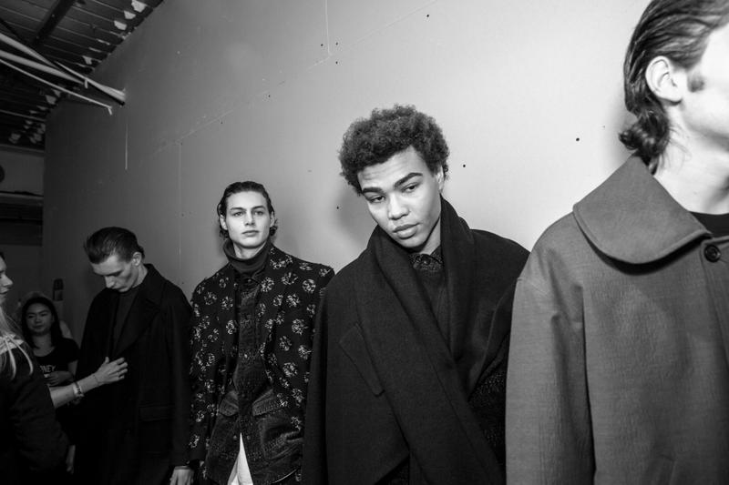 Casely-Hayford Fall/Winter 2017 Backstage