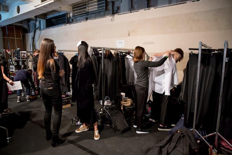 Matthew Miller Fall/Winter 2017 Backstage