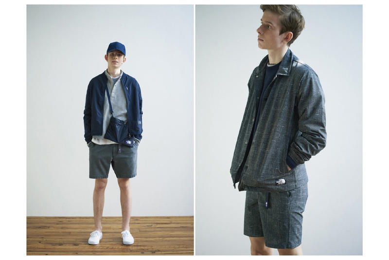THE NORTH FACE PURPLE LABEL 2017 Spring Summer Collection Lookbook
