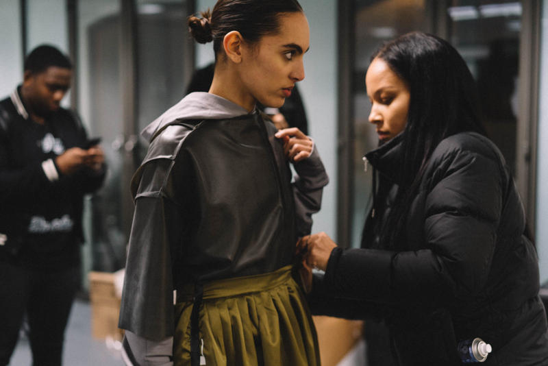 A-COLD-WALL* Backstage 2017 Fall/Winter
