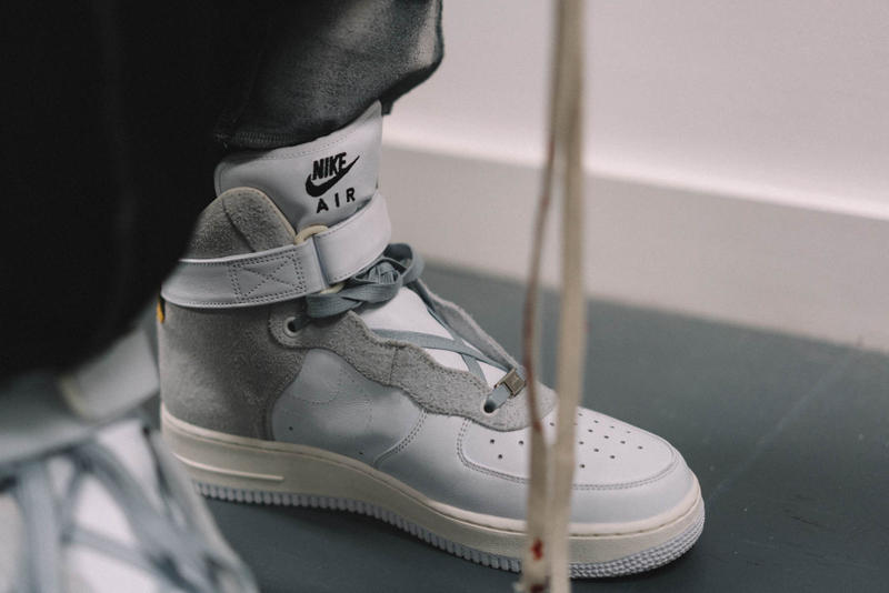 A-COLD-WALL* x NikeLab Air Force 1 Custom Bespoke Sneaker